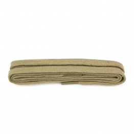 Taupe Flat Shoelaces