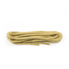 Beige Round Shoelaces