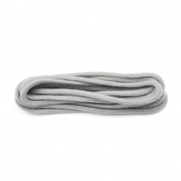 Silver Grey Round Shoelaces