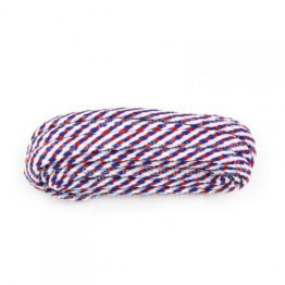 Red, White & Blue Hiking Boot Laces