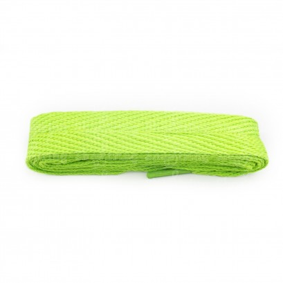 Lime Green Flat Laces