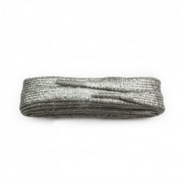 Silver Glitter Shoelaces
