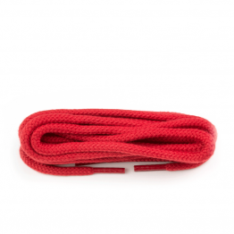 Red thick round laces