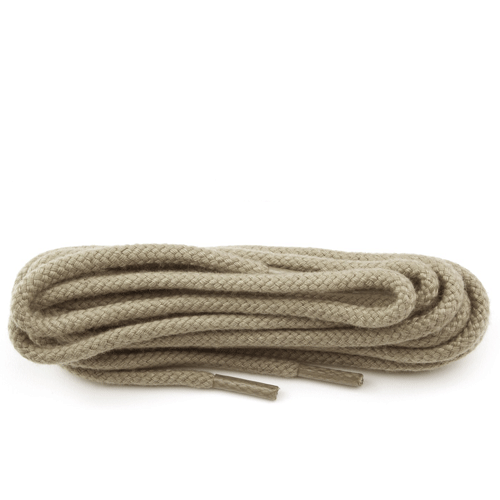 Taupe thick round laces