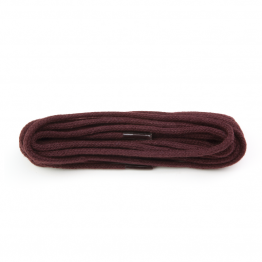 Burgundy Round Shoelace