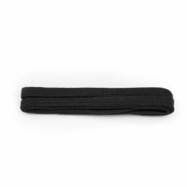 black flat shoelaces for sneakers leather boots