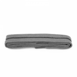 Grey Flat Shoelaces