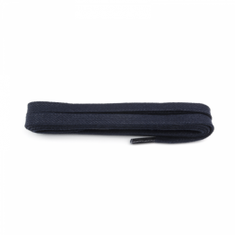 Navy Flat Waxed Shoelace