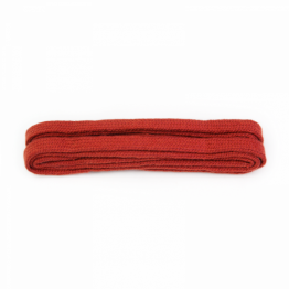 Red Flat Shoelaces