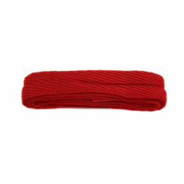 red fat sneaker shoelaces
