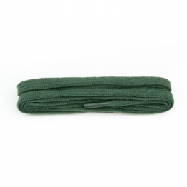 Green Flat Shoelaces