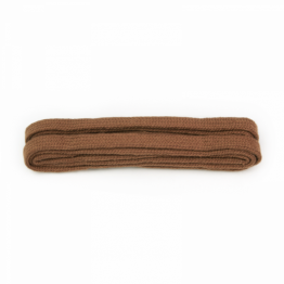 brown tan shoelaces for sneakers, leather shoes and boots
