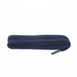 French Navy Flat Shoelaces
