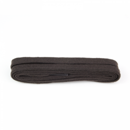 Dark Brown Flat Shoelaces