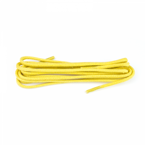 Yellow waxed laces