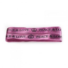 peace & love flat lace