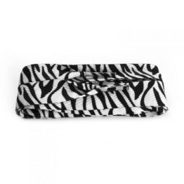 Black & White Zebra Lace
