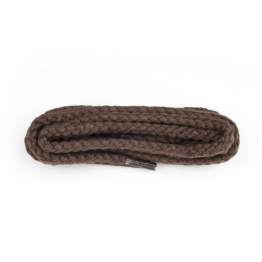 Brown Heavy Cord Shoelaces