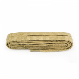 Beige shoelace for boots shoes trainers sneakers