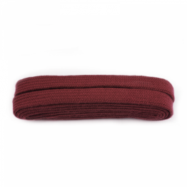 Burgundy sneaker boot shoelace