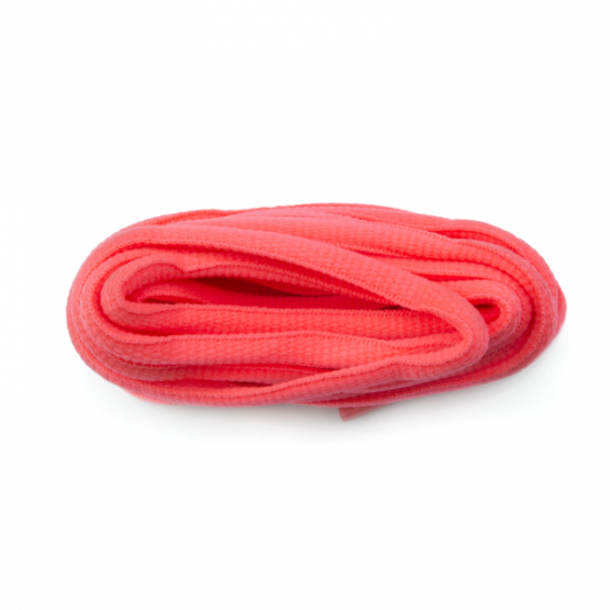 Flo Pink Oval Sport Laces