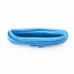 light blue oval shoelaces for sneakers walking boots leather boots