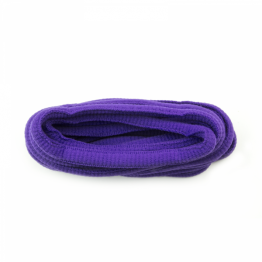 purple oval sport shoelaces for high sneakers, boots and trainers