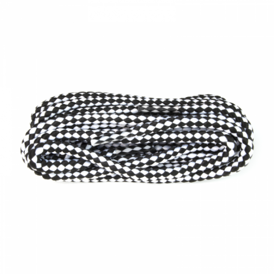 black and white hiking boot laces sneakers