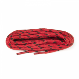 Red & Black Hiking Boot Laces