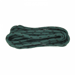 Green & Black Hiking Boot Laces