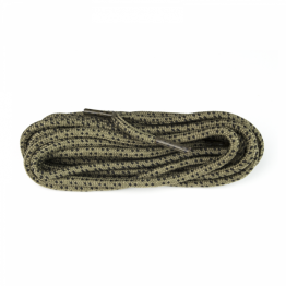 Khaki and Black Hiking boot laces