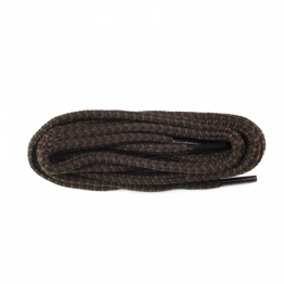 brown stripe shoelaces for all types of shoe, sneakers and hiking boots