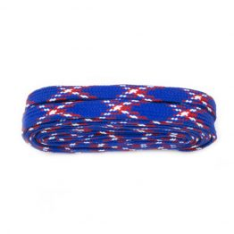 Tartan Blue Hiking Boot Laces