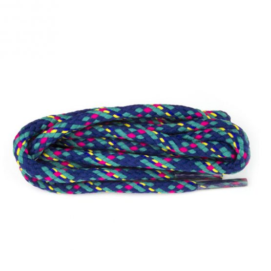 multicoloured sneaker shoelaces hiking boots