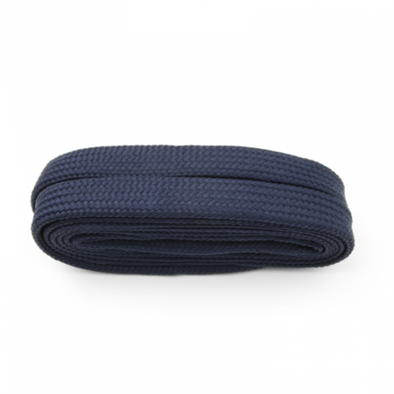 Navy Extra Wide Flat Laces