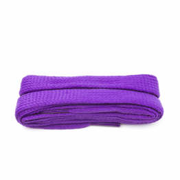 purple block shoelaces for sneakers walking boots hiking boots