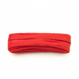 red flat block shoelaces for sneakers walking boots hiking boots