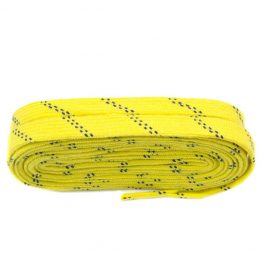 Yellow and Black Skate Shoelaces