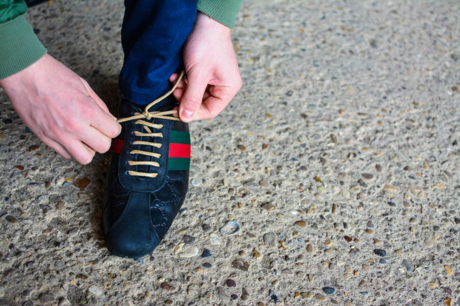 brown shoelaces for sneakers