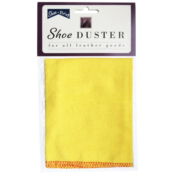 Yellow Shoe Polishing Cloth