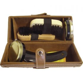 Travel Shoe Polishing Kit