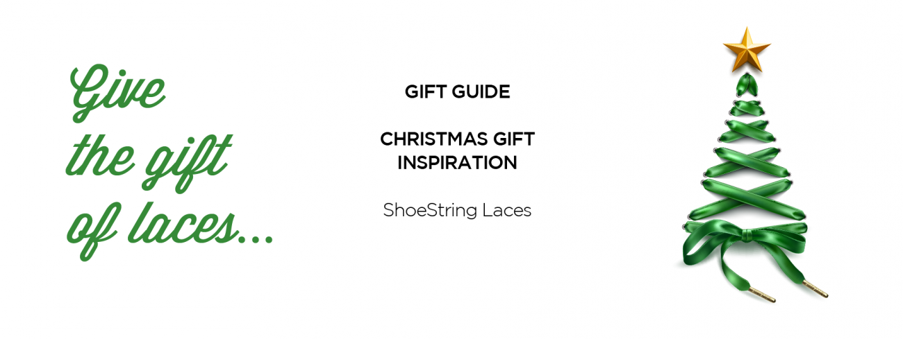 ShoeString Laces Christmas Gift Guide