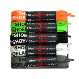 off white style shoelaces by shoestring laces a kit of 5 colours